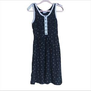 Eshakti Bow Tie Polka Dot Print Dress
